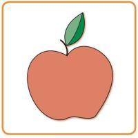 Bild Apfel - jabłko - jablko