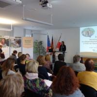 Bild Eröffnung Frau Jahn, Geschäftsführerin Euroregion Erzgebirge