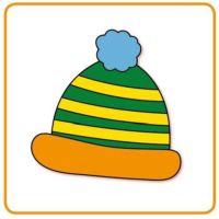 Bild Pudelmütze - (wełniana) czapka - čepice