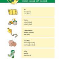 Bild Begleitbroschüre Innenansicht Wortschätze Monat September