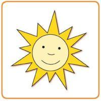 Bild Sonne - słoneczko - sluníčko