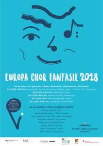 Deutsch-Polnisch-Tschechische Konzertreihe Europa Chor Fantasie 2018