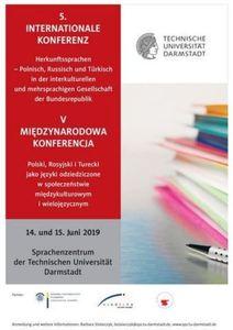 """Konferenz """"Herkunftssprachen – Polnisch, Russisch und Türkisch in der interkulturellen und mehrsprachigen Gesellschaft der Bundesrepublik"""""""