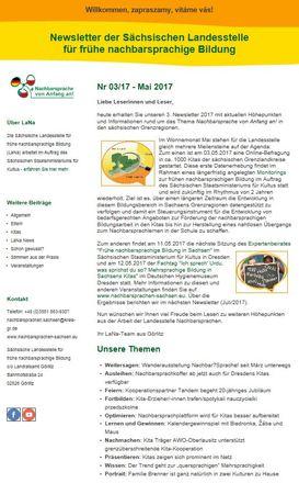 Dokumentbild LaNa-Newsletter Nr. 17/03