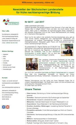 Dokumentbild LaNa-Newsletter Nr. 17/04