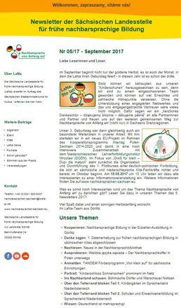 Dokumentbild LaNa-Newsletter Nr. 17/05