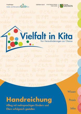 Dokumentbild Handreichung Vielfalt in Kita – Alltag mit mehrsprachigen Kindern und Eltern erfolgreich gestalten