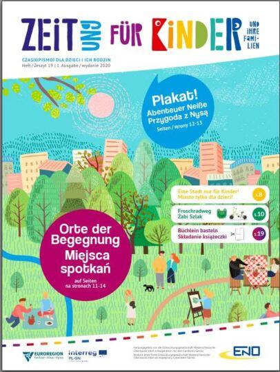 Dokumentbild Deutsch-Polnische Ausgabe der Zeit(ung) für Kinder 01/2020