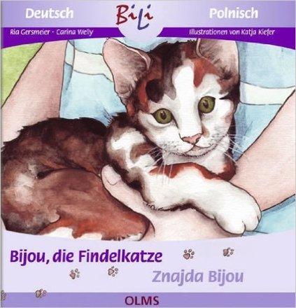 Dokumentbild Znajda Bijou/Bijou, die Findelkatze