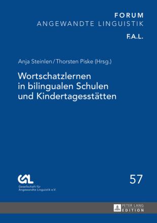 Dokumentbild Wortschatzlernen in bilingualen Schulen und Kindertagesstätten