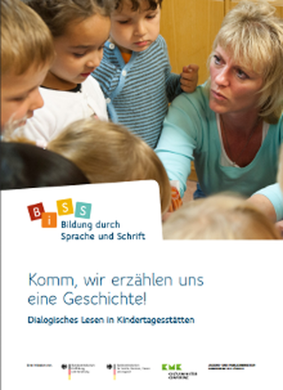 Dokumentbild Komm wir erzählen uns eine Geschichte! Dialogisches Lesen in Kindertagesstätten