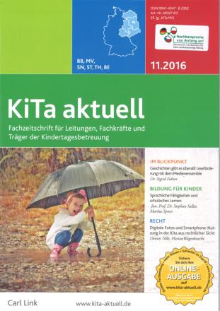 Dokumentbild KiTa-Aktuell: Mehrsprachigkeit als Bildungschance für alle Kinder fördern - Teil 2