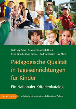 Dokumentbild Pädagogische Qualität in Tageseinrichtungen für Kinder - Ein Nationaler Kriterienkatalog