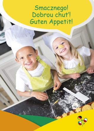 "Dokumentbild Postkarte ""Smacznego! Dobrou chut'! Guten Appetit!"""