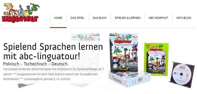 Dokumentbild ABC Linguatour - Ein verzaubert verrücktes Sprachlern-Abenteuer-Spiel