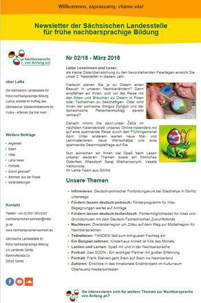Dokumentbild LaNa-Newsletter Nr. 18/02