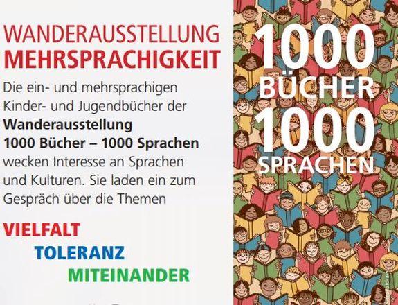 "Dokumentbild Wanderausstellung ""1000 Bücher - 1000 Sprachen"""