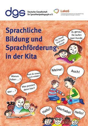Dokumentbild Sprachliche Bildung und Sprachförderung in der Kita