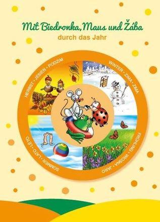 Dokumentbild Broschüre Mit Biedronka, Maus und Žába durch das Jahr - Feste, Traditionen und Bräuche