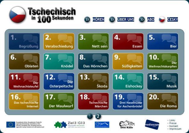 Dokumentbild Tschechisch in 100 Sekunden