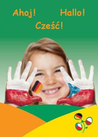 "Dokumentbild Postkarte ""Ahoj-Hallo-Cześć"""