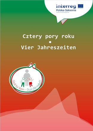 """Dokumentbild Deutsch-polnische Handreichung: """"Vier Jahreszeiten - Ctery pory roku"""""""