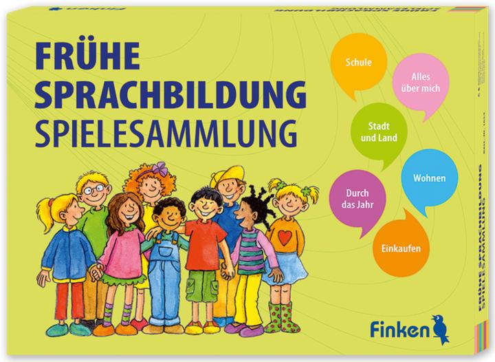 Dokumentbild Spielesammlung Frühe Sprachbildung