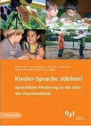 Dokumentbild Kinder-Sprache stärken! Sprachliche Förderung in der Kita: das Praxismaterial
