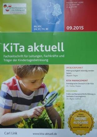 Dokumentbild KiTa-Aktuell: Frühe nachbarsprachige Bildung in Sachsens Grenzregionen - Eine Bestandsaufnahme