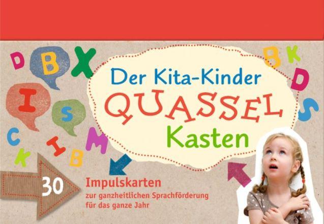Dokumentbild Der Kita-Kinder-Quasselkasten (Sprachlernkarten)