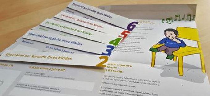 Dokumentbild Mehrsprachige Elternbriefe zur Sprachentwicklung & Sprache Ihres Kindes