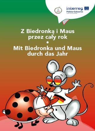 Dokumentbild Deutsch-polnisches Malbuch Z Biedronką i Maus przez cały rok - Mit Biedronka und Maus durch das Jahr