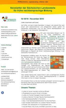 Dokumentbild LaNa-Newsletter Nr. 16/05