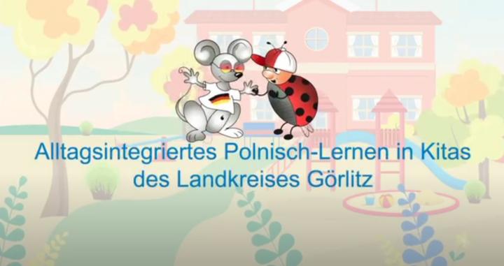Dokumentbild Erklärvideo zum Polnischen Sprachbad in Kitas im Landkreis Görlitz