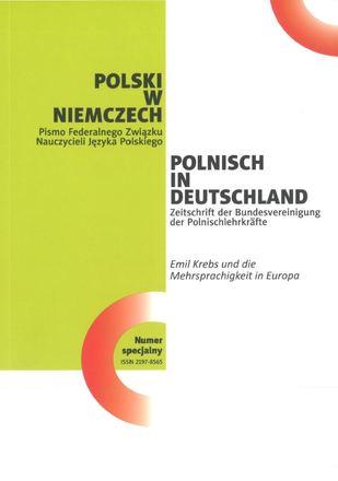 """Dokumentbild Auf dem Weg zur """"Nachbarsprache von Anfang an"""" im deutsch-polnischen Grenzraum"""