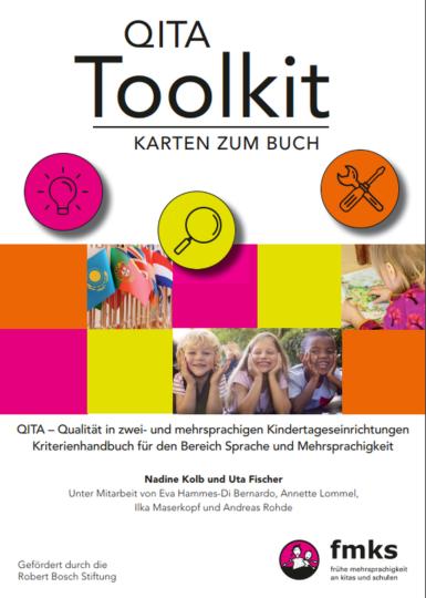 Dokumentbild QITA-Toolkit - Karten zum Kriterienhandbuch für den Bereich Sprache und Mehrsprachigkeit