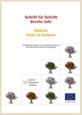 Dokumentbild Schritt für Schritt durchs Jahr - Methodisches Handbuch für das spielerische Erlernen der tschechischen Sprache im Kindergarten
