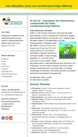 Dokumentbild LaNa-Newsletter Nr. 19/02