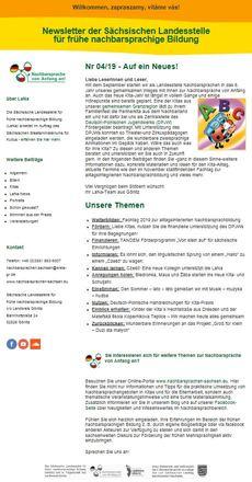 Dokumentbild LaNa-Newsletter Nr. 19/04