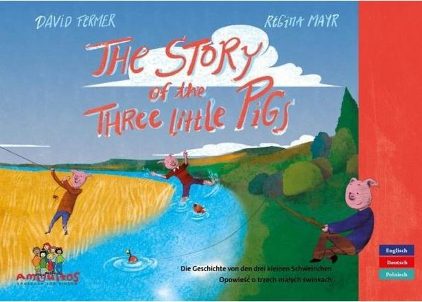 Dokumentbild The story of the three little pigs