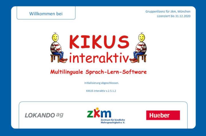 Dokumentbild Kikus interaktiv - Multilinguale Sprach-Lern-Software