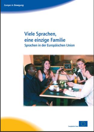 Dokumentbild Viele Sprachen, eine einzige Familie