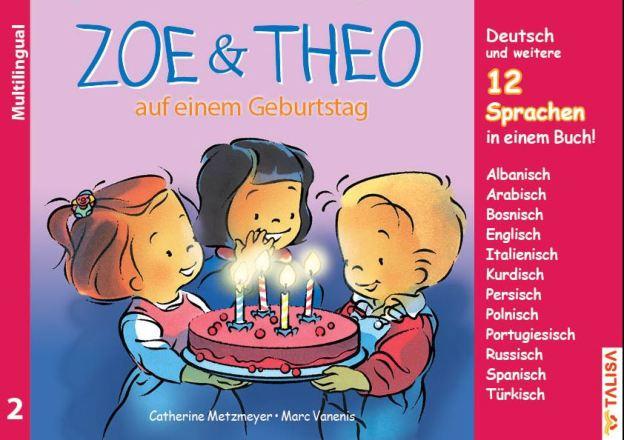 Dokumentbild ZOE & THEO auf einem Geburtstag