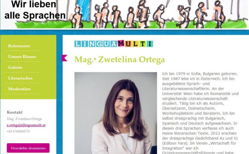 Ksenia Koba Gogodze: Gefühle und Muttersprache