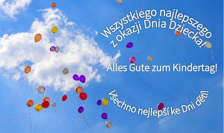 Heute feiern wir Kindertag!