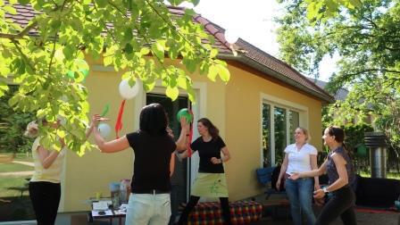 Deutsch-polnischer Austausch in kreativer Atmosphäre