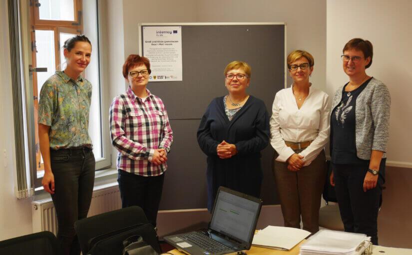 Polnisch-deutsches Projektteam schmiedet gemeinsame Pläne
