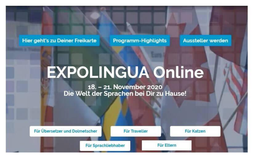 Darstellung Webseite zur Onlinemesse