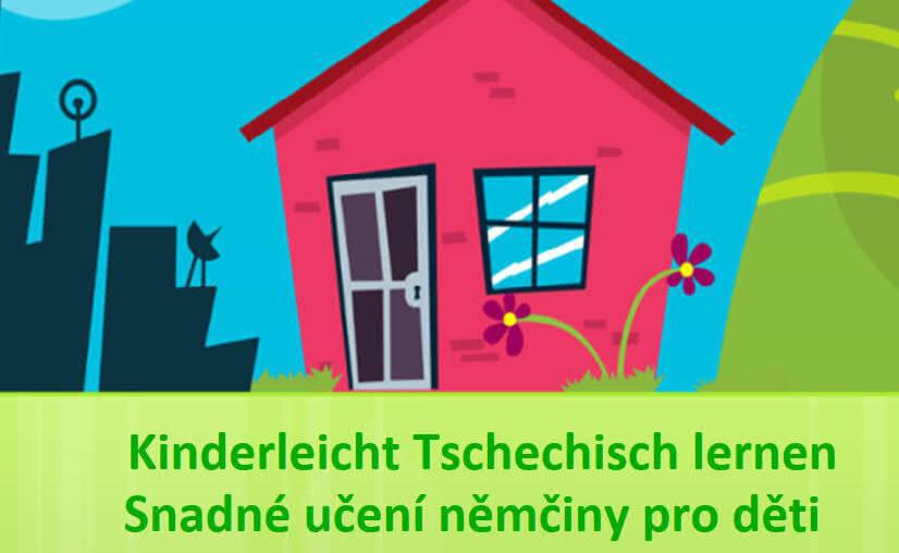 Titelbild Broschüre mit Sonne, Haus und Landschaft im Hintergrund