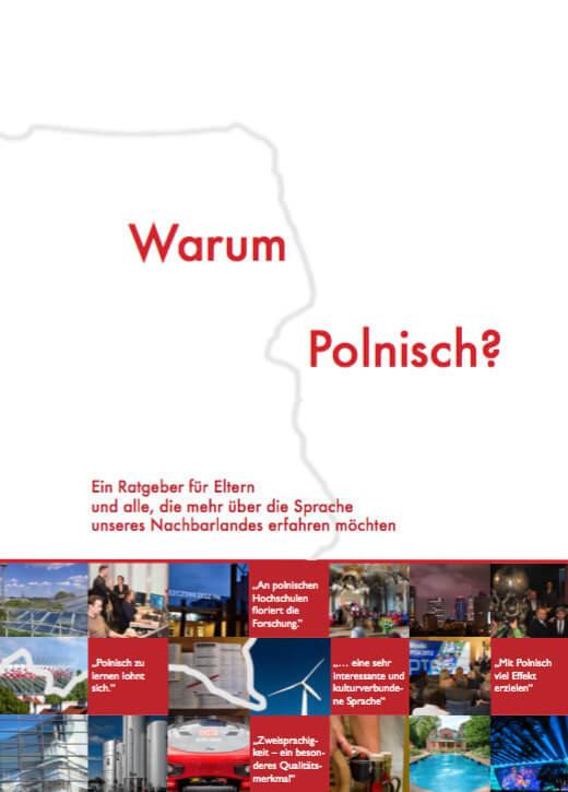 """Broschüre """"Warum Polnisch?""""ich"""